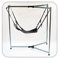 A serious heavy duty safe Sling Frame for rough, heavy action.