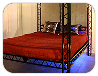 Bedroom, playroom or dungeon - the kinky bed